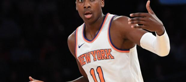 Informe: Frank Ntilikina se lastima el tobillo durante la práctica de los Knicks ... - defpen.com