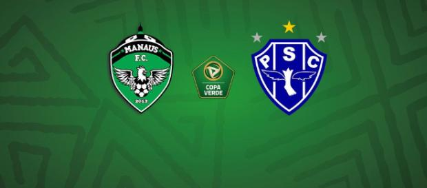 Manaus x Paysandu ao vivo nesta quarta-feira (11)