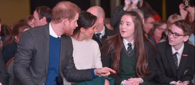 Prince Harry and Ms Markel attend 'Amazing The Space' event in Belfast (Image credit – Northern Ireland Office, Wikimedia Commons)