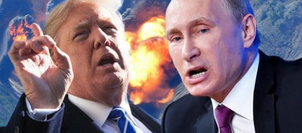 RUSIA amenință să răspundă cu FOC dacă Siria va fi atacată de SUA și Occident - Foto: Daily Express (Getty Images)