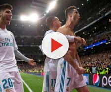 Cristiano Ronaldo celebra el gol de la clasificación