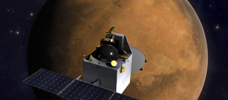 Mars Orbiter Mission ISRO (image via ISRO/Flickr)