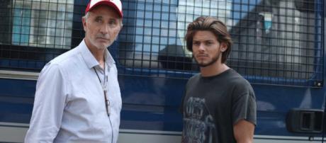Roland (Thierry Lhermitte) et JB (Rayane Bensetti)
