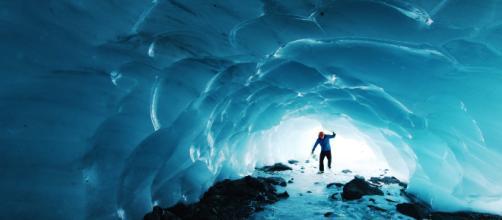 A surprise bellow a Canadian ice cap. Image: Paxon Woelber on Unsplash