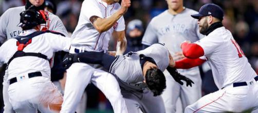 Carlos Febles golpeó en la cabeza durante la pelea entre los Yankees y los Medias Rojas | los