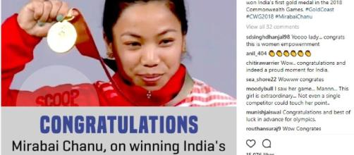 Indian female athleets do well at Commonwealth Games 2018 - Image credit | Instagram