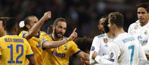 Jogadores da Juventus perderam a cabeça no final