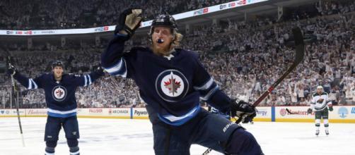 Laine y los Jets dieron el primer golpe en su serie contra el Wild. NHL.com.