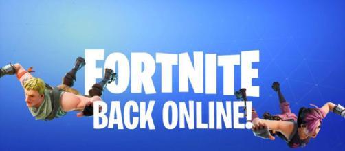 Los servidores Fortnite están comenzando a volver a estar en línea.