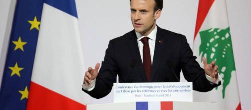 Macron dice tener pruebas de que el régimen sirio es responsable