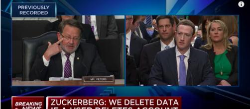 Mark Zuckerberg: We Don't Use Mobile Device Microphones To Listen In On Users. - (CNBC/YouTube)