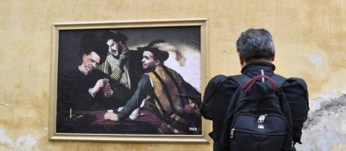 Roma: Di Maio, Berlusconi e Salvini «bari» in un nuovo murale ... - corriere.it