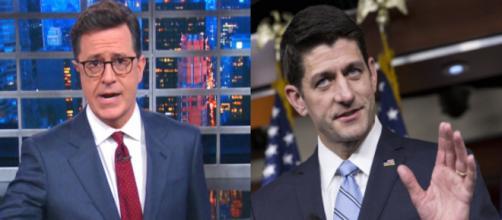 Stephen Colbert, Paul Ryan, via Twitter