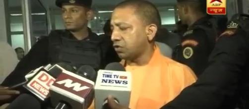 The UP CM -Yogi- Photo-( image credit-ABP/ Youtube.com)
