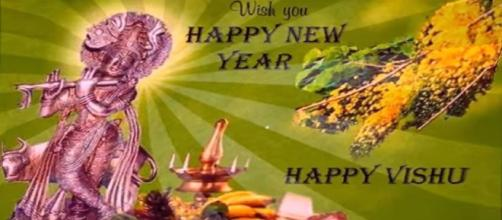 Vishu greetings (Image Credit: Pooja LuthraYoutube)