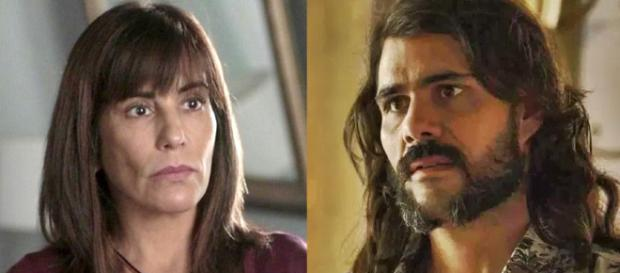 Beth e Mariano em 'O Outro Lado do Paraíso'