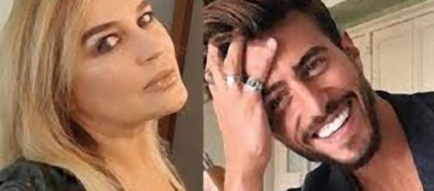Lory Del Santo ha baciato Marco Ferri.