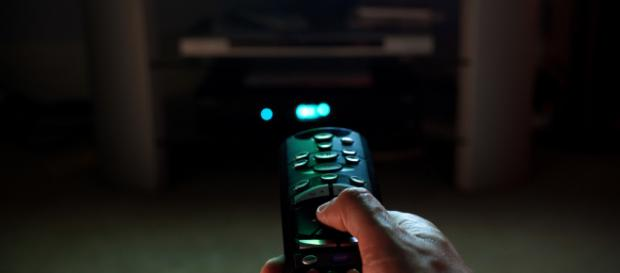 Person watching TV -- image via Flickr