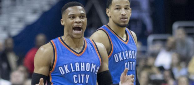Russell Westbrook will need to be spectacular to win this series. Photo courtesy: Keith Allison via Wikimedia Commons