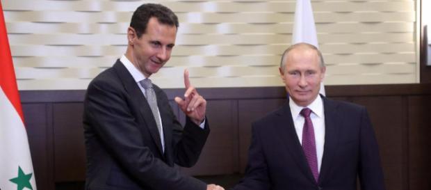 Syriens Diktator Assad bei Russlands Präsident Putin: Gipfel der ... - bild.de