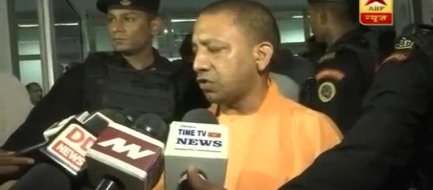 The UP CM -Yogi- Photo-( image credit-ABP/ Youtube.com)
