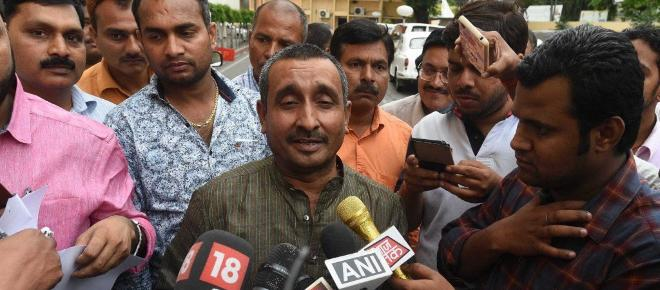BJP and Yogi try and save rape accused MLA by handing case to CBI
