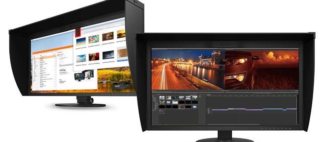 Eizo lança monitor para edição de fotos e vídeos de alta resolução