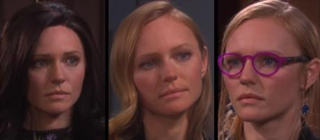 Days of our Lives: Abby's alter egos. (Image via YouTube screengrab/DaysGoneBy)