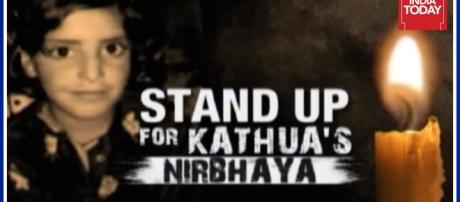The eight year old raped and killed-Photo-( image credit Indiatoday/youtube.com)