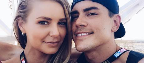 Tom Sandoval and Ariana from social network post
