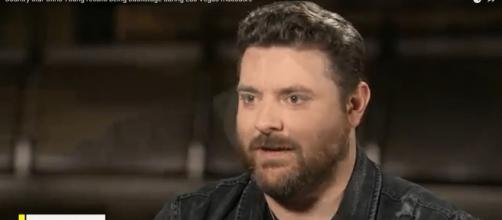 Chris Young has an astounding vocal range and looks forward to his ACM award performance this weekend -- Screencap CBSThisMorning/YouTube