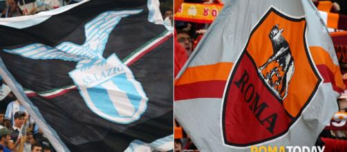 Derby Lazio-Roma: la Curva Nord riempie l'Olimpico, la Sud l ... - romatoday.it