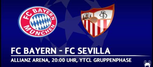 Emocionado partido del Sevilla al empate 0-0 en el Allianz Arena.