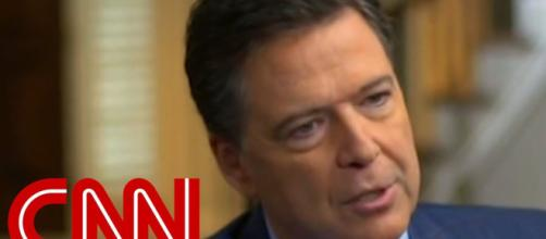 James Comey's book has angered Trump Photo-( image credit-CNN/ youtube.com)