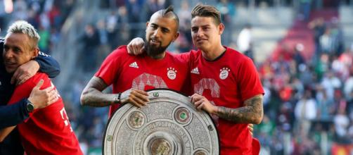 James Rodríguez y Arturo Vidal incendian el Bayern-Real Madrid de Champions- com.ar