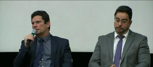 Juízes Sérgio Moro e Marcelo Bretas em destaque