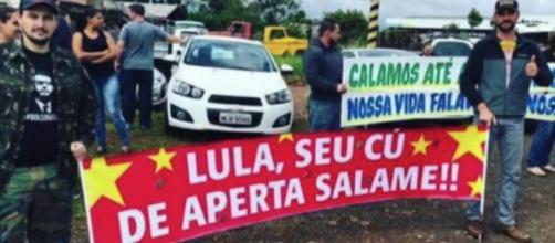 Milicianos que atacaram caravana de Lula ameaçam jornalista; confira o vídeo