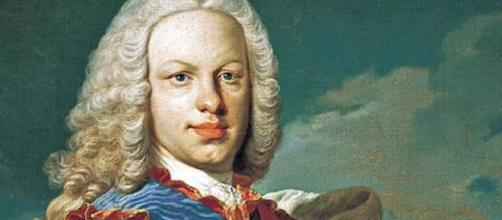 Retrato del rey Fernando VI, nacido en Madrid.