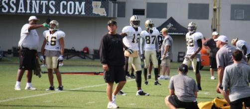 Saints coach Sean Payton not a fan of top QB's in 2018 Draft'- photo by vamostigres via Flickr