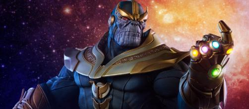 Thanos, promete ser un gran dolor de cabeza para los vengadores.