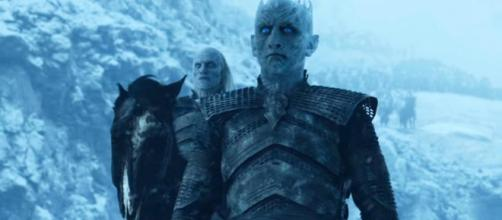 The Night King acquiring a dragon / Image via TheCell8, YouTube screencap