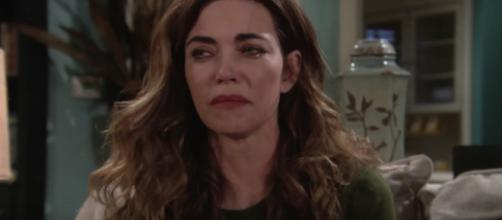 Victoria Newman opens up to loved ones about JT's treatment - Image via YouTube screenshot