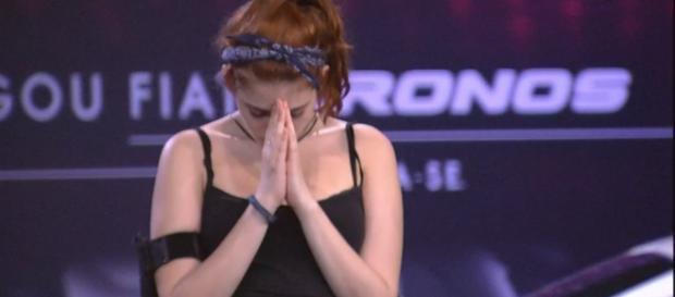 Ana Clara passou mal durante prova no ''BBB18''
