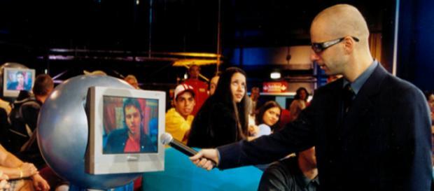 Cazé durante o programa Sociedade Anônima. (foto reprodução).