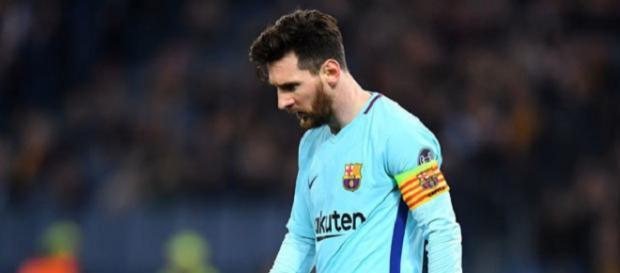 Leo Messi ficou desolado com eliminação