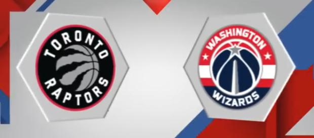 Raptors vs Wizards Game 2 image source: [<Motion Station>/YouTube screenshot]