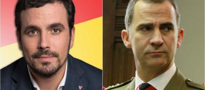 Indignación en la Casa Real tras la grave amenaza de Alberto Garzón a Felipe VI