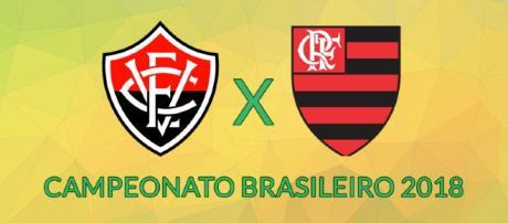 Vitória x Flamengo ao vivo neste sábado