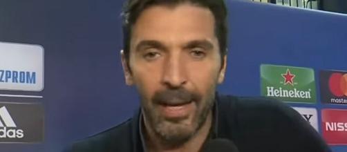 Buffon, portiere della Juventus