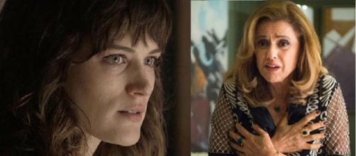 Clara e Sophia no embate final de 'O Outro Lado'